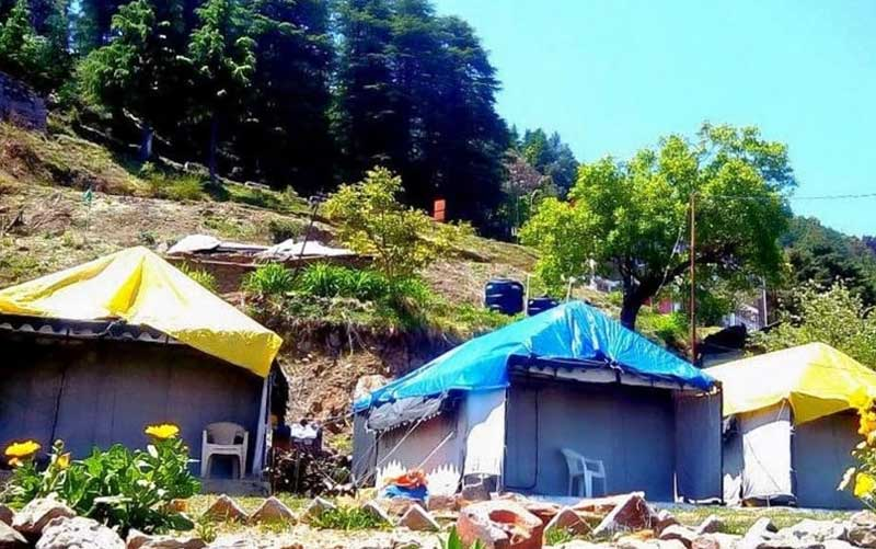 dhanaulti camping