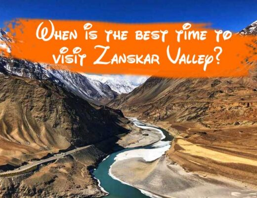 When is the best time to visit Zanskar Valley?