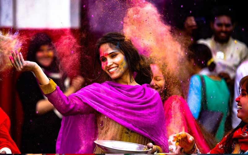 Holi festivals in Darjeeling
