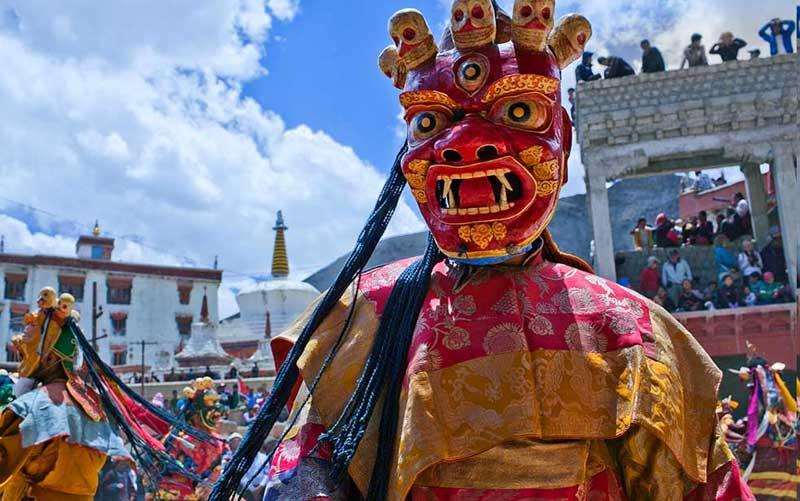 Losar Festival in Darjeeling