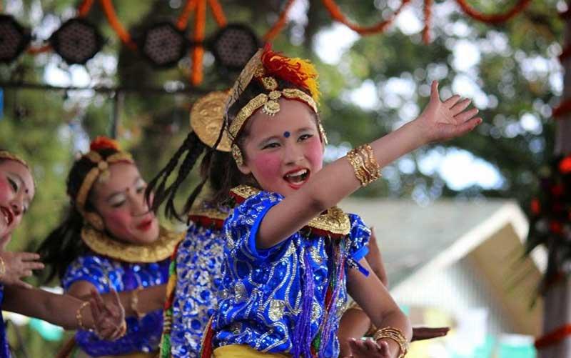 carnival in darjeeling