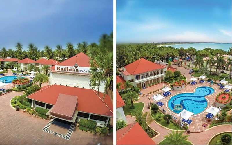 radhika beach resort diu