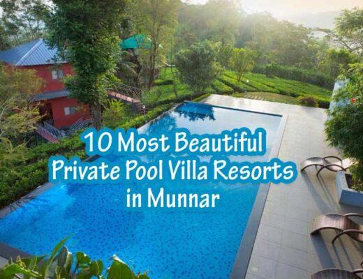 10 Most Beautiful Private Pool Villa Resorts in Munnar