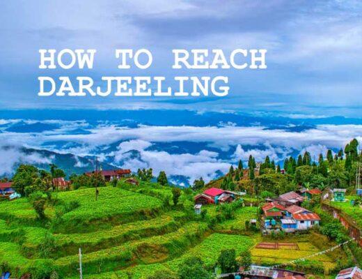 How to Reach Darjeeling