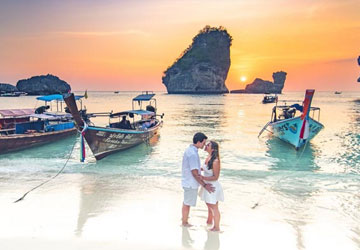 krabi Honeymoon Tour Package