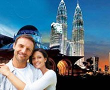 Romantic Singapore Malaysia Honeymoon Tour