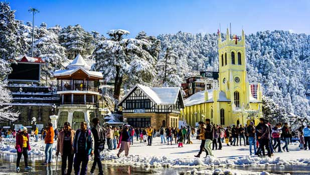 Peerless 5 Nights/6 Days Shimla Manali Tour from Chandigarh by Car