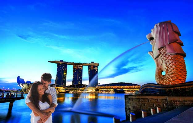 sinapore-honeymoon-trip