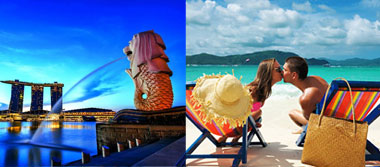 Singapore Bali Exotic Honeymoon Package